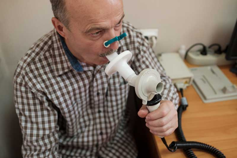 Controlul pneumologic pentru identificarea riscului de apnee în somn la solicitanții de permise pentru grupa II