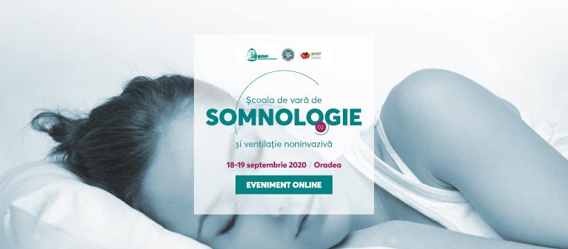 Școala de Vară de SOMNOLOGIE și ventilație noninvazivă – Oradea 2020