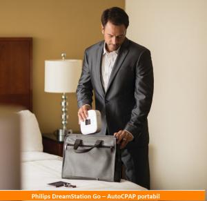 Philips DreamStation Go – AutoCPAP portabil