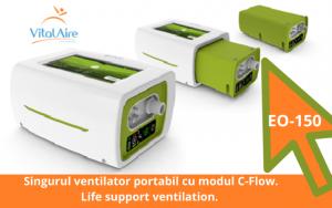 EO-150_ventilator portabil cu modul C-Flow
