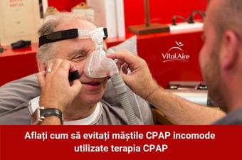 Aflați cum să evitați măștile CPAP incomode utilizate terapia CPAP